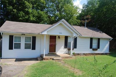 Fort Smith AR Single Family Home For Sale: $85,000