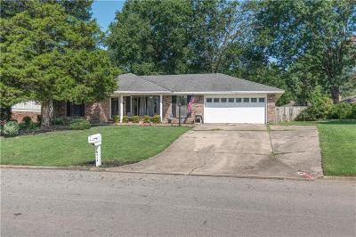 Fort Smith AR Single Family Home For Sale: $179,900