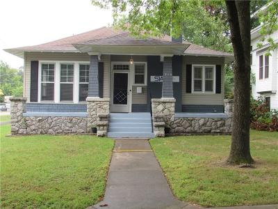 Fort Smith AR Single Family Home For Sale: $153,900