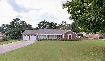 Fort Smith Single Family Home For Sale: 1800 Burnham Road