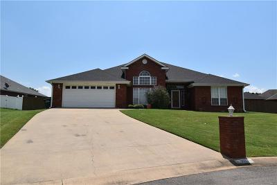 Sallisaw Single Family Home For Sale: 1702 Winterpark Drive