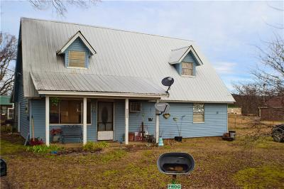 Whitesboro OK Single Family Home For Sale: $89,900
