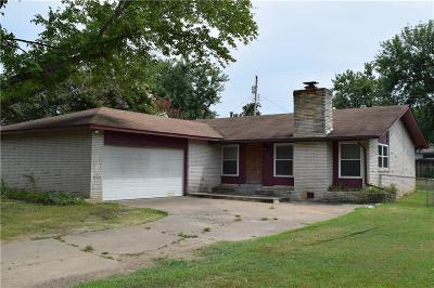 Fort Smith AR Single Family Home For Sale: $106,500