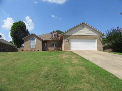 Fort Smith AR Single Family Home For Sale: $136,900
