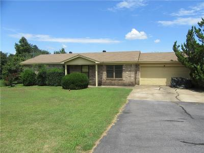 Greenwood AR Single Family Home For Sale: $129,900