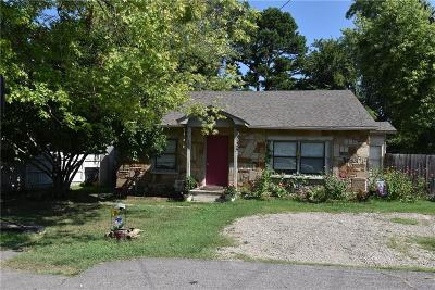 Sallisaw OK Single Family Home For Sale: $78,500