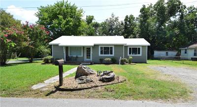 Sallisaw OK Single Family Home For Sale: $74,900
