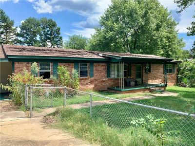 Muldrow OK Single Family Home For Sale: $112,900