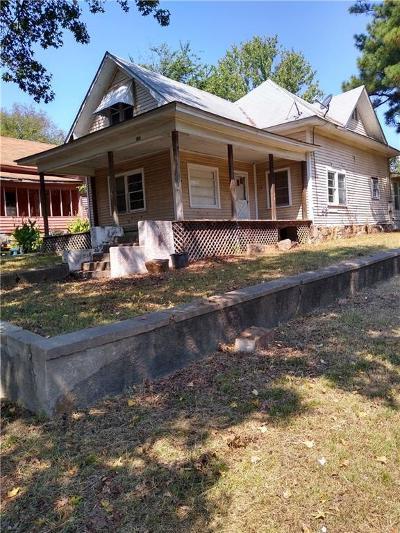 Heavener OK Single Family Home For Sale: $27,500