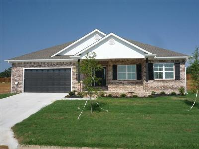 Fort Smith AR Single Family Home For Sale: $266,057
