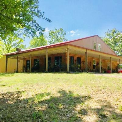 Pocola OK Single Family Home For Sale: $550,000