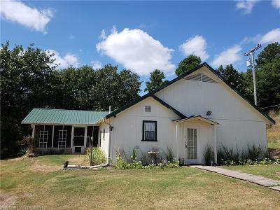 Heavener OK Single Family Home For Sale: $88,500