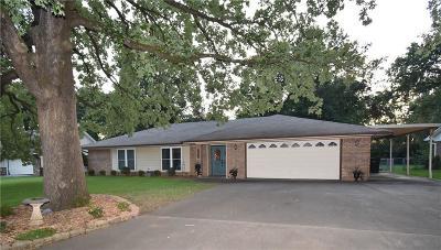Sallisaw OK Single Family Home For Sale: $142,000