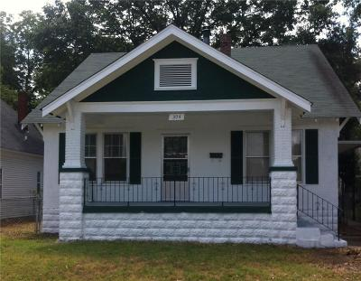 Fort Smith AR Single Family Home For Sale: $68,900