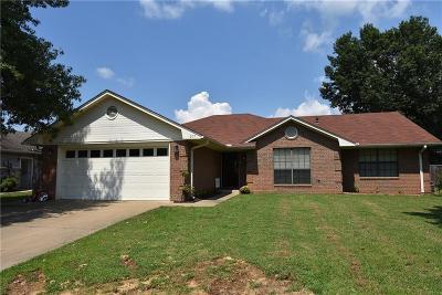 Sallisaw OK Single Family Home For Sale: $129,500