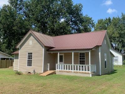 Sallisaw OK Single Family Home For Sale: $79,900