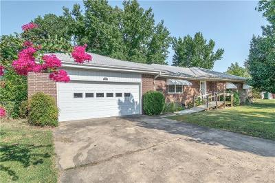 Sallisaw OK Single Family Home For Sale: $84,900