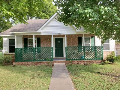 Fort Smith AR Single Family Home For Sale: $78,000