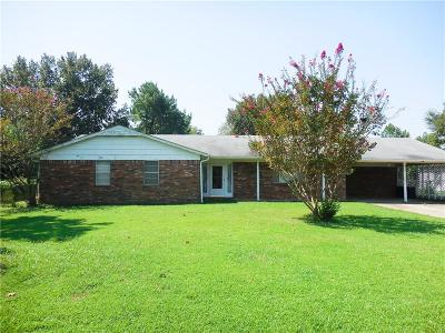 Wister OK Single Family Home For Sale: $92,500