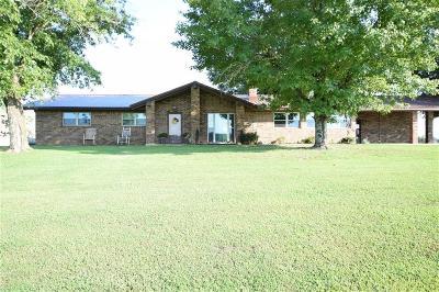 Muldrow OK Single Family Home For Sale: $195,000