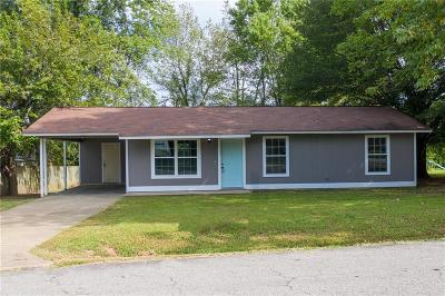 Alma AR Single Family Home For Sale: $99,500