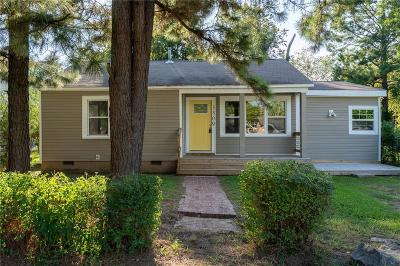 Fort Smith AR Single Family Home For Sale: $72,500