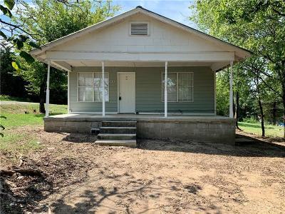 Poteau OK Single Family Home For Sale: $45,000