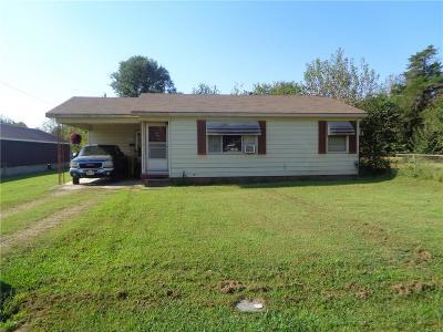 Panama OK Single Family Home For Sale: $49,500