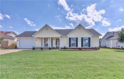 Alma, Van Buren, Fort Smith, Pocola, Poteau, Spiro Single Family Home For Sale: 1011 Opal Drive