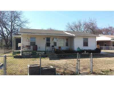 Muldrow OK Single Family Home For Sale: $45,000
