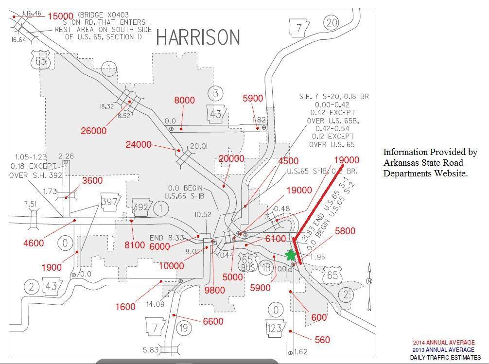 Listing: 525 Old Bellefonte, Harrison, AR.| MLS# 133620 | Vince ...