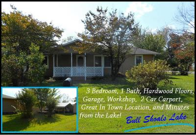 Lead Hill, Diamond City Single Family Home For Sale: 117 W Cherry Street