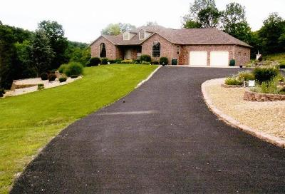 Harrison Single Family Home For Sale: 8615 Cottonwood Road