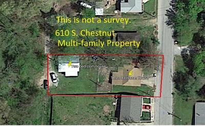 Boone County Multi Family Home For Sale: 610 S Chestnut