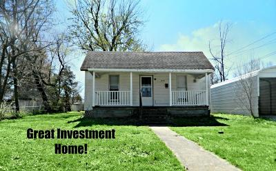 Boone County Single Family Home For Sale: 1024 W Rush