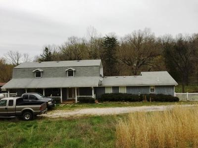 Marion County Single Family Home For Sale: 1153/1154 Meadow Crest Lane