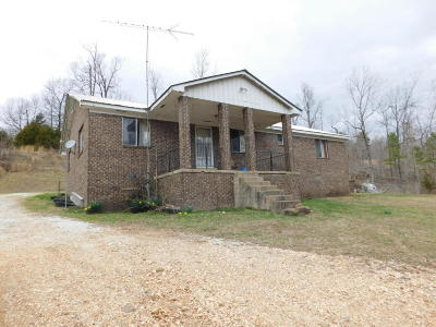 Newton County Single Family Home For Sale: Hc 31 Box 389