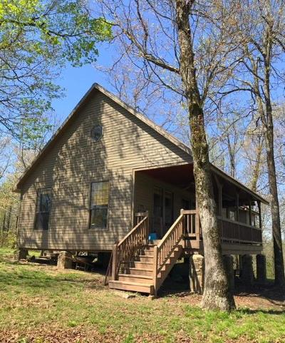 Newton County Single Family Home For Sale: Hc 30 Box 55h