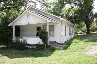 Harrison Single Family Home For Sale: 602 S Hickory