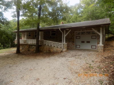 Newton County Single Family Home For Sale: Hc73 Box 11a