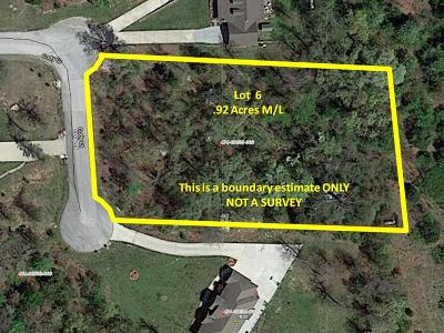Boone County Residential Lots & Land For Sale: Lot 6 Cody Court