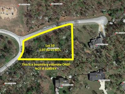Boone County Residential Lots & Land For Sale: Lot 10 Cody Court