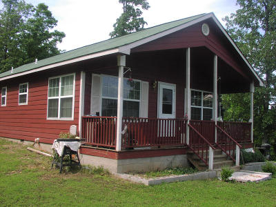 Newton County Single Family Home For Sale: Hc73 18a Hwy 7