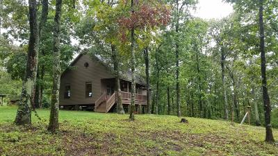 Newton County Single Family Home For Sale: Hc 30 Box 55 H