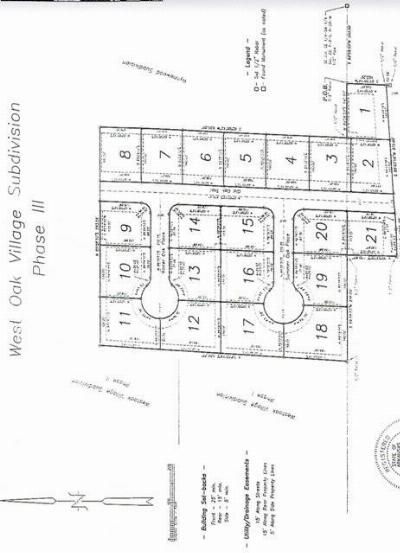Residential Lots & Land For Sale: Lot 1 Old Oak Trail