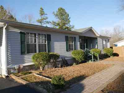 Hot Springs AR Single Family Home For Sale: $59,500