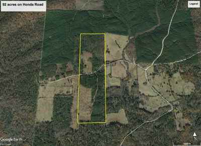 Garland County, Hot Spring County Single Family Home For Sale: 92 Acres Honda Rd