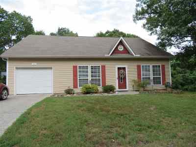 Hot Springs Single Family Home Active - Price Change: 640 Stover