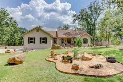Hot Springs Single Family Home For Sale: 122 Meadowlake Dr