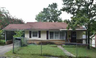Hot Springs Single Family Home For Sale: 218 First Street